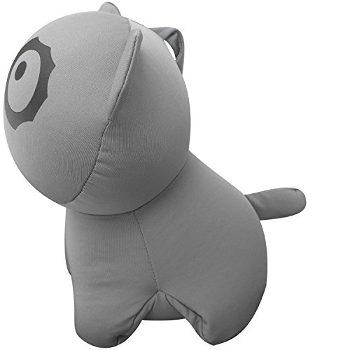 PackingPup - Cute Puppy Microbead Pillow - Convertible Travel Pillow (Cloud Grey) Sporting Goods ...