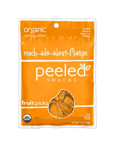Peeled Snacks Organic Much-Ado-About-Mango, 1.4 Ounce (Pack of 10) (Dried Organic Fruit compare prices)