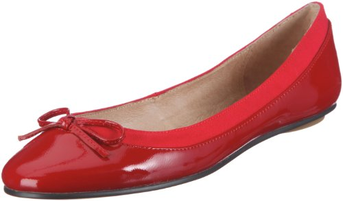 Buffalo, 207-3562, Ballerine, Donna, Rosso (Rot/RED118), 38