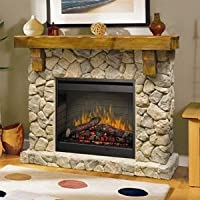 Dimplex SMP-904-ST Fieldstone Pine and S...