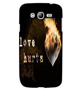 ColourCraft Love Quote Design Back Case Cover for SAMSUNG GALAXY GRAND I9082