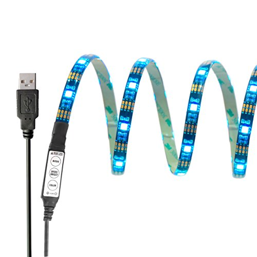 InnoBeta-90cm354-Zoll-Mehrfarben-LED-Bias-Hintergrundbeleuchtung-Lighting-DC5V-65W-IP65-flexible-wasserdichte-SMD5050-RGB-Cuttable-USB-Streifen-fr-TV-HDTV-LCD-Bildschirm-Laptop-PC-Outdoor-Schlafzimmer