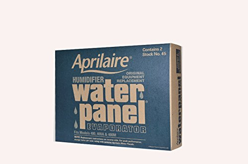Aprilaire Humidifier Part # 45 for Models 400, 400A and 400M Case of 2 (Aprilaire 400 Humidifier Pad compare prices)