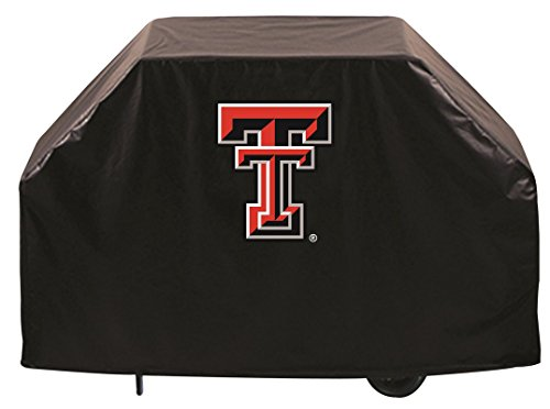 Texas Tech Red Raiders HBS Black Outdoor Heavy Duty Vinyl BBQ Grill Cover (72