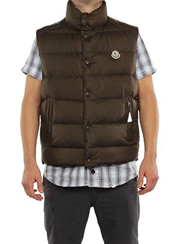 MONCLER CHEVAL VERDE OLIVA 22 091 4330105 69833 giacca invernale smanicata piumino uomo-54