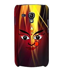 Durge Maa 3D Hard Polycarbonate Designer Back Case Cover for Samsung Galaxy S3 Mini :: Samsung Galaxy S3 Mini i8190