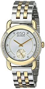 ESQ Movado Women's 07101463 Classica Analog Display Swiss Quartz Two Tone Watch