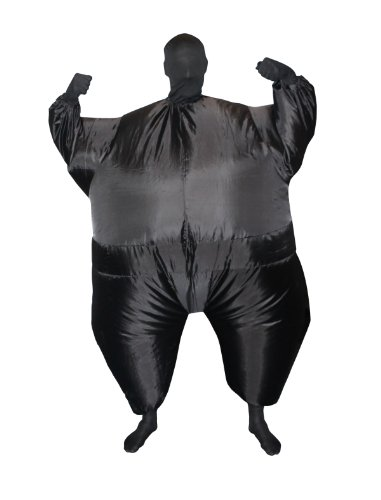 Morphsuits Mega Morph Costume (Morphsuit Kids Black compare prices)