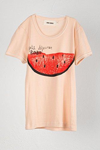 BOBO CHOSES ボボショセス T-shirt Girl ガールズTシャツ (12-18M, ウォーターメロン)