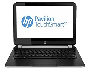 HP Pavilion TouchSmart 11-e001sa 11.6-inch Notebook (AMD Dual-Core A4 1GHz, Radeon HD 8210 Graphics, 8GB RAM, 500GB HDD, Windows 8 64-Bit)