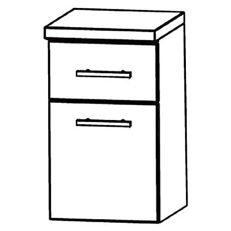 UNA344A7M) in Star Line Cabinet Bathroom Furniture-40cm