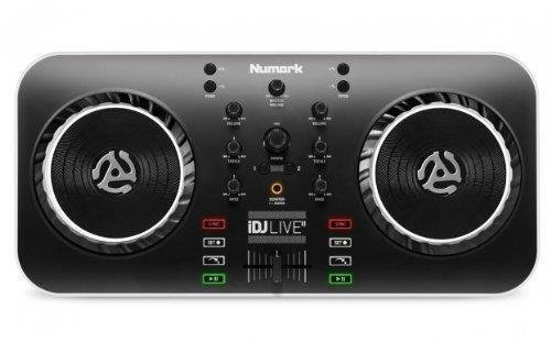 Numark Idj Live Ii Dj Controller For Mac, Pc, Ipad, Iphone And Ipod Touch (Usb, Lightning And 30-Pin)