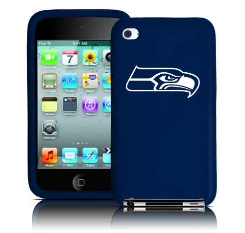 Tribeca FVA3711 Varsity Jacket (Silicone) iPodTouch - 4th Generation - Seattle Seahawks - Dark Blue at Amazon.com