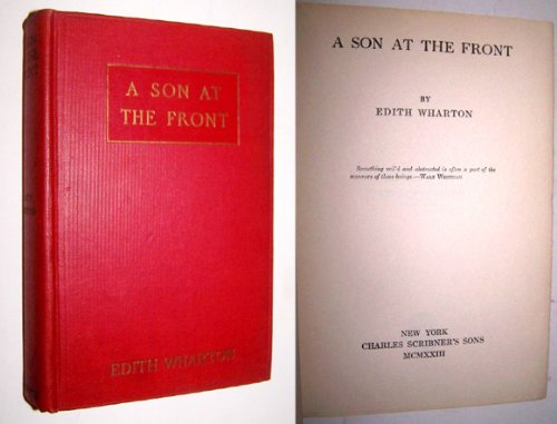 A Son At The Front, by Edith Wharton