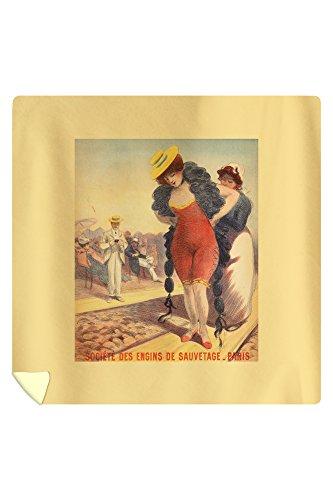 societe-des-engins-de-sauvetage-vintage-poster-artist-redon-georges-c-1890-88x88-queen-microfiber-du