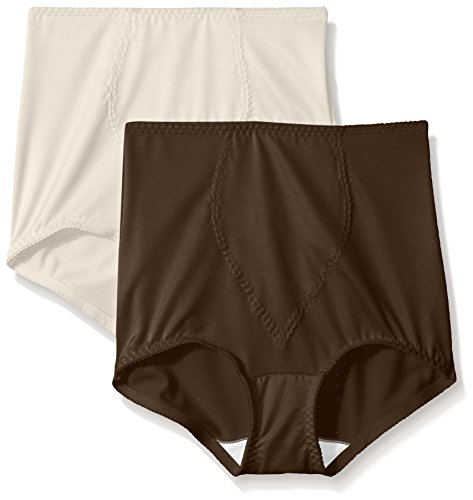 f907bb18cc7 Hanes Shapewear Women's Light Control 2 Pack Tummy Control Brief,  Beige/Rich Chocolate, 2X - Buy Online in Oman. | Apparel Products in Oman -  See Prices, ...