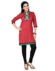 Dragaon-The Ethnically Eloquent Indian Designer Tunic With Embroidery