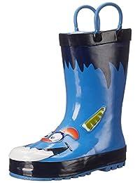 Western Chief Blue Monster Rain Boot (Toddler/Little Kid/Big Kid)