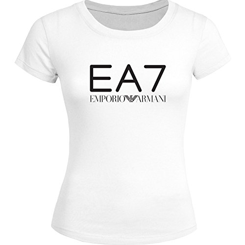 EA7 Emporio Armani For Ladies Womens T-shirt Tee Outlet