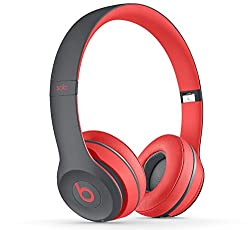 Beats Solo2 Wireless Headphones Active Collection - Red (MKQ22ZM/A)
