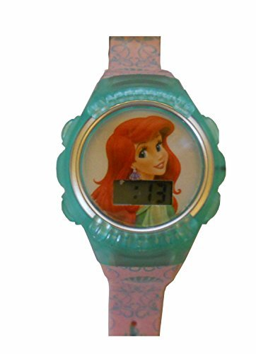 The Little Marmaid Flashing Lights LCD Watch