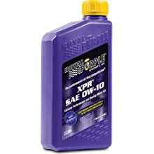 Royal Purple 12009 XPR 0W-10 Ultra-light Extreme Performance Synthetic Racing Motor Oil - 12 Quart Jug
