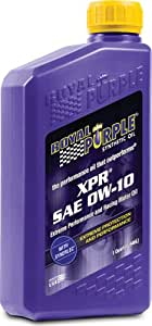 Royal Purple 12009 XPR 0W-10 Ultra-light Extreme Performance Synthetic Racing Motor Oil - 1 qt. (Case of 12)