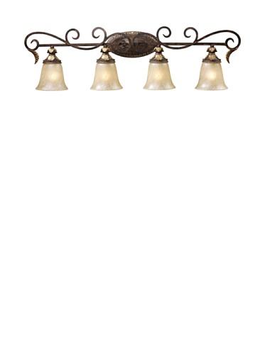 Artistic Briarcliff 2-Light Vanity, Weathered Umber