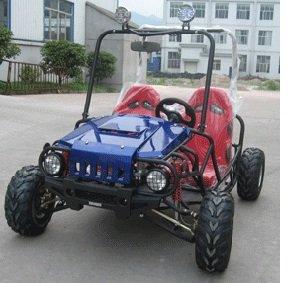 TaoTao ATK-125A 125cc BLUE Gas 4 Stroke Semi-Auto Buggy Go Kart
