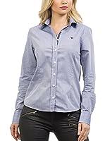Signore Dei Mari Camisa Mujer Emilia (Azul Lavado)