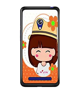 PrintDhaba Cartoon D-2978 Back Case Cover for ASUS ZENFONE 5 A501CG (Multi-Coloured)