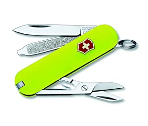 Victorinox Swiss Army Classic Knife, 58mm, Stayglow
