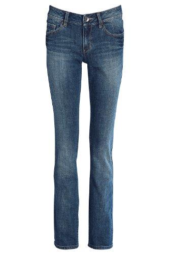 ESPRIT - Jeans straight, donna, blu (Blau (dark vintage wash 946)), 40/42 IT (27W/34L)