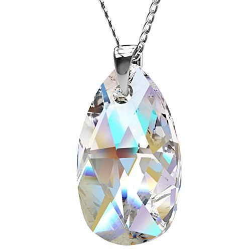 sterling-silver-made-with-swarovski-crystals-blue-aurora-borealis-teardrop-pendant-necklace-for-wome