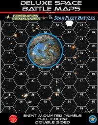 Federation Commander: Deluxe Space Battle Maps