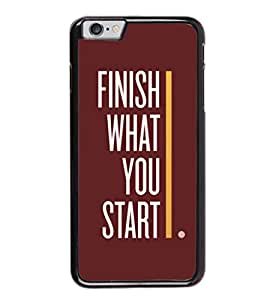 printtech Cool Gym Qoutes Back Case Cover for Apple iPhone 6