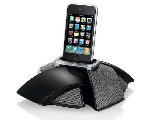 gute docking station f r iphone 5 mit lautsprechern. Black Bedroom Furniture Sets. Home Design Ideas