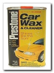 Heavy duty silicone car wax cleaner 16 oz - Prestone interior cleaner walmart ...