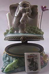 Porcelain Hinged Box Retrospect Series - The Saggy Baggy Elephant