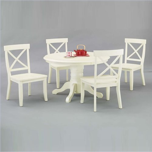 White Round Dining Table Set rustic round dining tables | rustic round dining tables