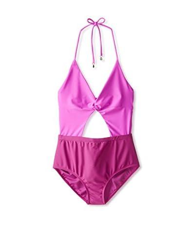 6 Shore Road Women's Divine Tonal One-Piece Swimsuit