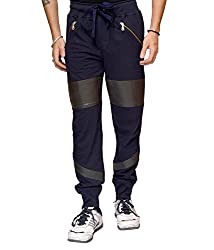 Crux&hunter Men's Trackpant (AMZ_ZJ_105_Navy_30)