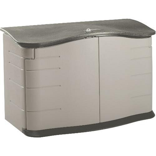 Rubbermaid 3748 Horizontal Storage Shed, 18-Cubic Ft