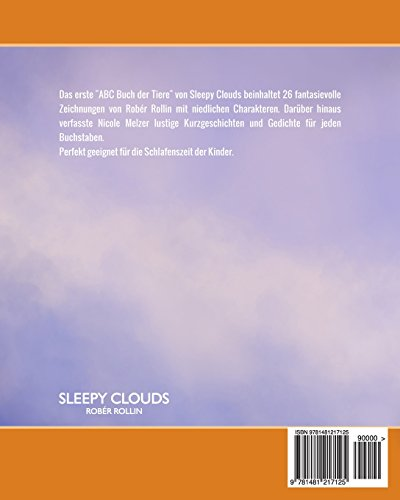 ABC Buch der Tiere: Sleepy Clouds präsentiert Bücher für Kinder und Jugendliche: Volume 1 (Kinderbuch)