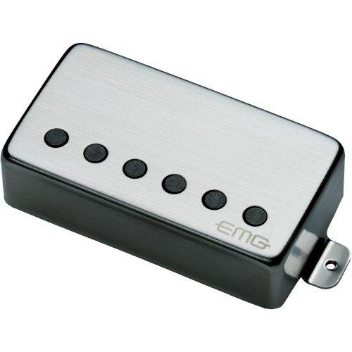 EMG 57-B E-Gitarren Humbucker Tonabnehmer Edelstahl Brushed chrome