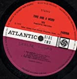 Time And A Word LP (Vinyl Album) UK Atlantic 1970