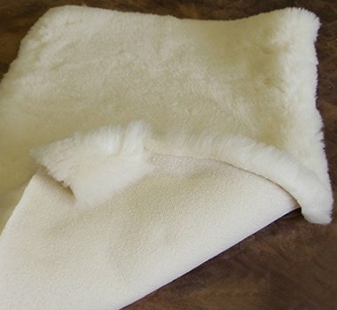Great Deal! Holy Lamb Organics Cozy Buns Organic On the Go Happy Lamb Fleece Pad