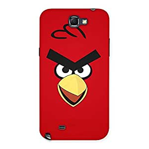 Red Yelo Peak Back Case Cover for Galaxy Note 2