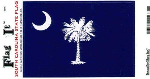 South Carolina Heavy Duty Vinyl Bumper Sticker (3 x 5 Inches) (South Carolina Bumper Sticker compare prices)