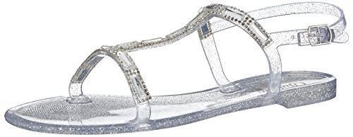 Buffalo TH-03 PU, Sandali donna, Trasparente (Transparent (CLEAR 01)), 38